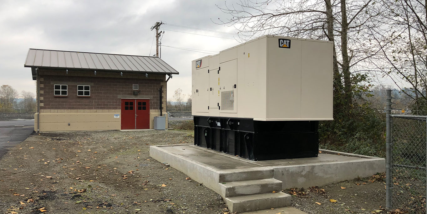 Snohomish Wastewater Treatment Plant Standby Power, City of Snohomish