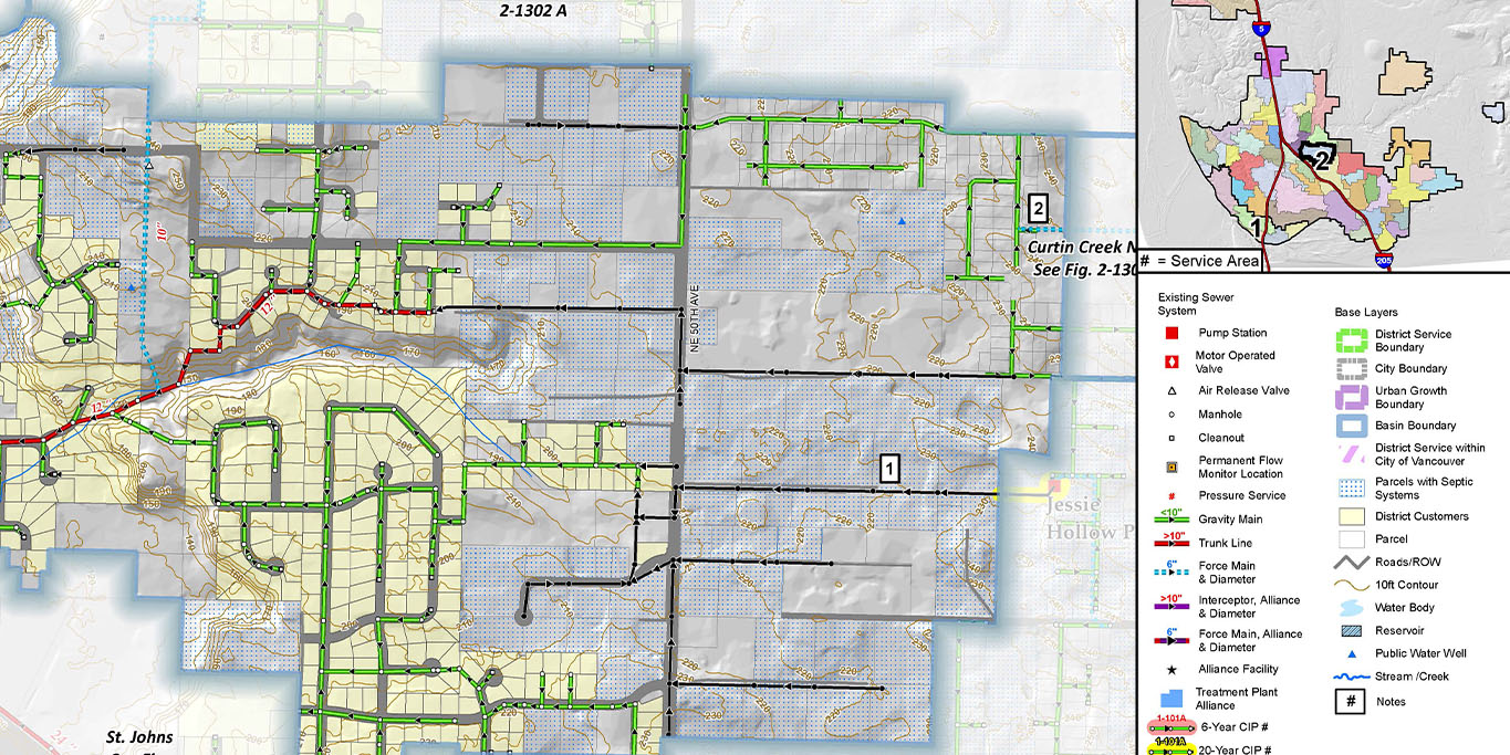 Comprehensive General Sewer Plan Update, Clark Regional Wastewater District